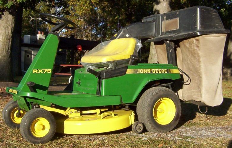 jd_rider_rx75_with_bagger products tractorsalesandparts com hundreds of used tractors & parts!